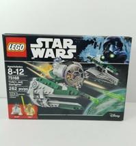 LEGO Star Wars Yoda's Jedi Starfighter 75168 Building Kit  - $29.92