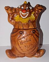 Clown Cookie Jar 12in Vintage Hobo Kookie Klown USA CJ 4 Ceramic Caniste... - $34.99