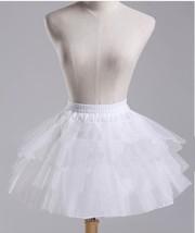 New Arrival White Tulle Petticoats For Little Girls Prom Dress Tutu Skir... - $13.55