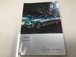 Mercedes Benz C-Class Owners Manual Z0K11 - $28.79