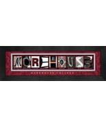 Morehouse College Officially Licensed Framed Campus Letter Art - $39.95