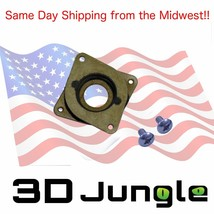 3D printer & CNC Stepper Damper - Nema 17 Steel & Rubber Vibration Reduc... - $6.92+
