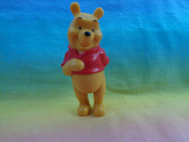 Disney Winnie The Pooh Solid PVC Mini Figure or Cake Topper Hand in Back - $1.93
