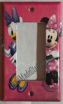 Minnie Mouse Daisy CupCake Light Switch Power Outlet Wall Cover Plate decor image 4