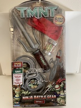 Playmates Toys 2008 TMNT Raphael Ninja Assault Gear Figure SIGNED Kevin ... - $239.99