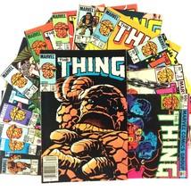 The Thing 13 Comic Lot Marvel Copper Age Spider-Man She-Hulk Inhumans Wonder Man - £18.45 GBP