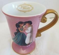 DISNEY Aladdin and Jasmine Couples Designer Fairytale Collection Mug Cup TEA - $59.99