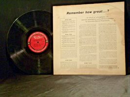 Golden Anniversary Album and Remember How Great... AA-191760 Vintage Collectible image 5