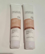 Lot of 2 AVON Moisture Therapy Hand Cream Calming Relief Oatmeal 4.2 OZ.... - $9.33