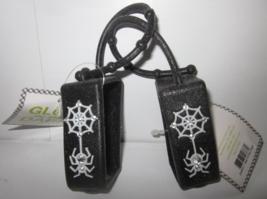 2 Bath & Body Works PocketBac Hand Sanitizer Holder Glows n Dark Black Spiderweb - $24.99