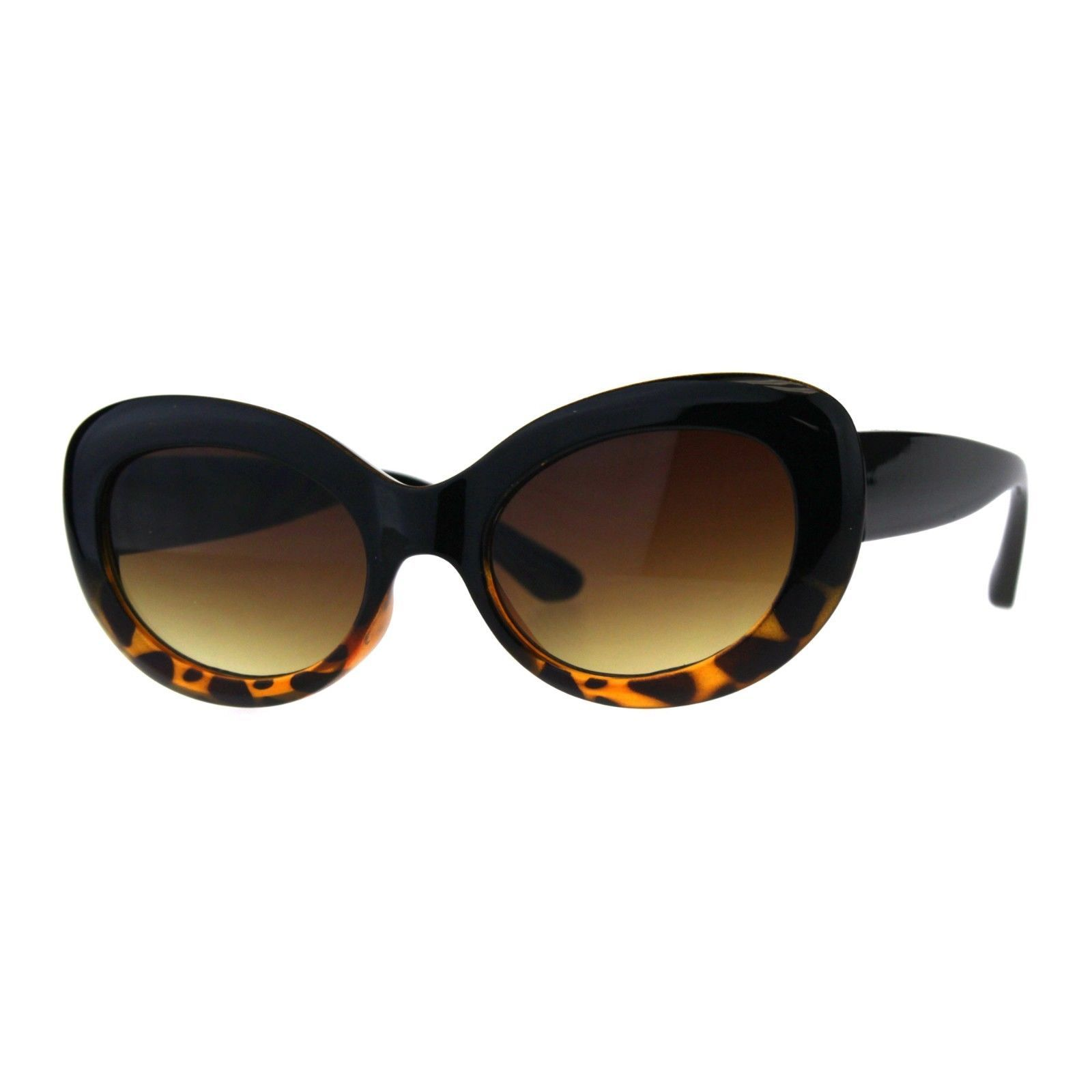 Womens Sunglasses Oval Cateye Vintage Fashion Frame UV 400