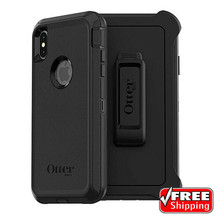 NEW OtterBox Defender Series Heavy Duty Case Apple iPhone XS Max Black H... - $24.28