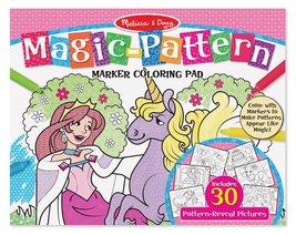 Melissa & Doug Magic-Pattern Marker Kids' Coloring Pad - Princesses, Pon... - $9.99