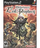 McFarlane's Evil Prophecy - PlayStation 2 - $18.95
