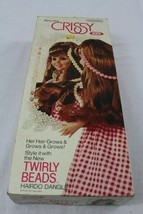 Ideal Vintage Beautiful Crissy Twirly Beads 1969 Doll Orig Pink Dress Wi... - $39.95