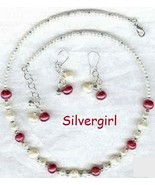 Cinnamon Cream Fresh Water Pearl Necklace and Earring Set - $24.99