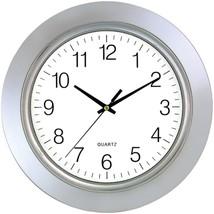 Timekeeper 6450 13 Chrome Bezel Round Wall Clock - $31.80