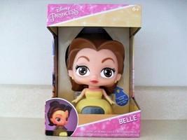 Disney Princess Belle Light Up Digital LCD Alarm Clock BulbBotz - $25.74