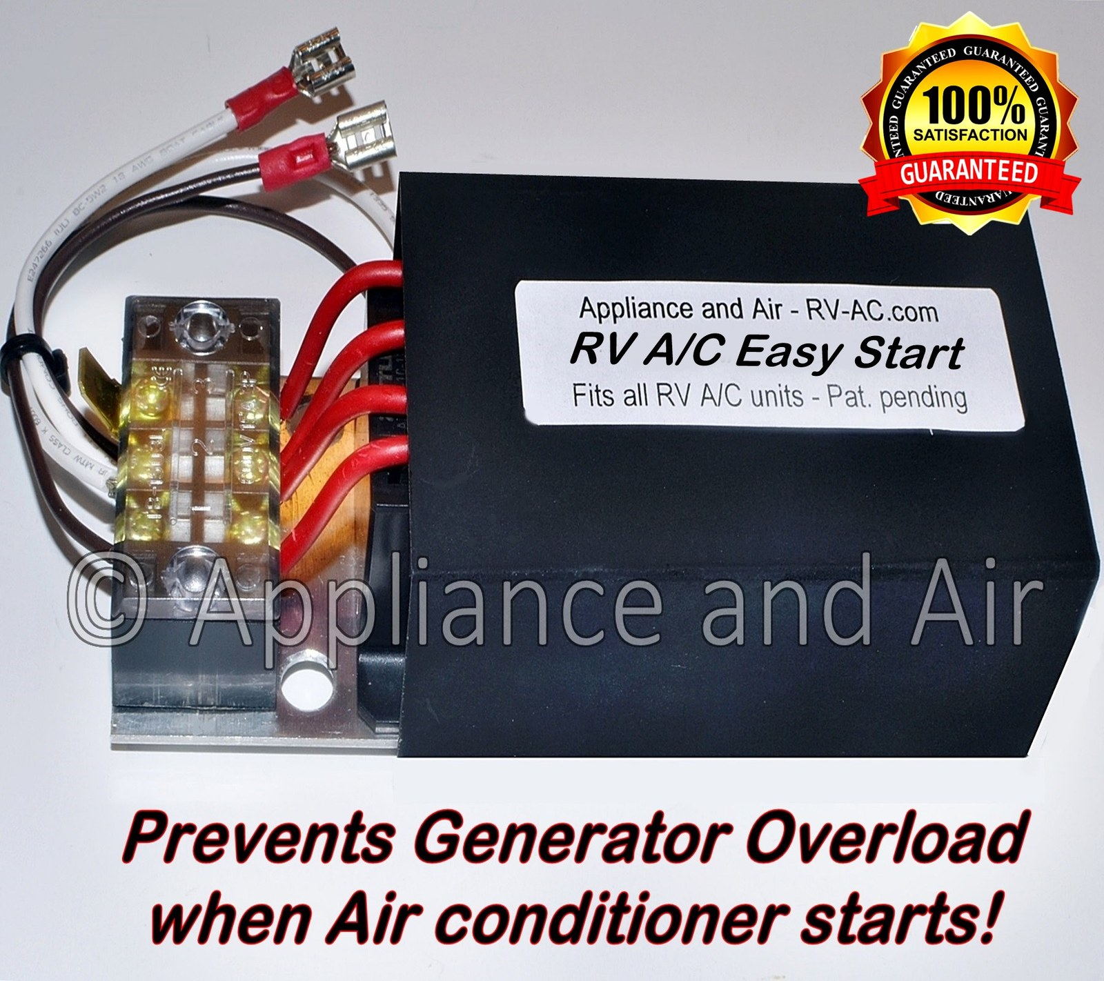 Easy start rv airconditioner