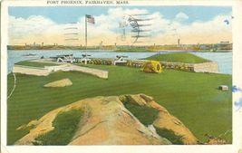 Fort Phoenix, Fairhaven, Mass  1931 used Postcard  - $3.99
