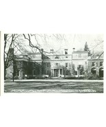 Front view of Roosevelt Home, Hyde Park, New-York unused Real Photo Post... - $7.99