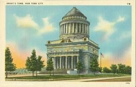 Grant's Tomb, New York City old unused linen Postcard  - $3.99