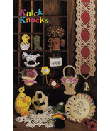Knick Knacks Crochet Booklet Digest Size EUC 1984 - $8.00