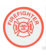 FIREFIGHTER Highly Reflective FIRE DEPARTMENT VINYL DECAL - $1.97