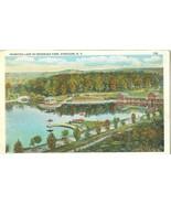Hiawatha Lake in Onondaga Park, Syracuse, new York 1910-1920s unused Pos... - $3.99