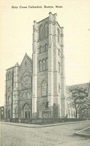 Holy Cross Cathedral, Boston Mass early 1900s unused Postcard  - $5.35