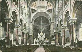 Interior, Church, Roxbury Mass 1907 used Postcard - $4.25