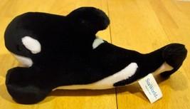 "Sea World SHAMU KILLER WHALE 12"" Plush Stuffed Animal TOY - $16.34"