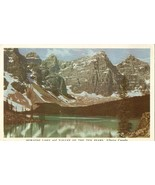 Moraine Lake and Valley of the Ten Peaks, Alberta, Canada 1952 used Post... - $5.00
