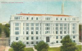 Municipal Building, Washington early 1900s unused Postcard  - $4.50