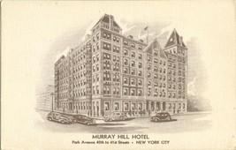 Murray Hill Hotel, New York City 1930s unused Postcard  - $14.99