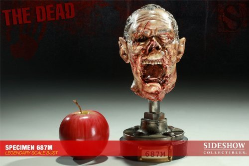Primary image for Sideshow San Diego Comic Con the Dead Specimen 687m Legendary Scale Bust Sdcc