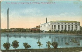 New Bureau of Engraving & Printing, Washington D.C. early 1900s unused P... - $3.99