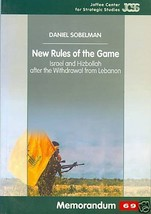 New Rules of the Game: Israel and Hizbollah after the Withdrawal from Le... - $38.00