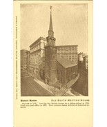 Old South Meeting-House, Boston old unused Postcard  - $6.77