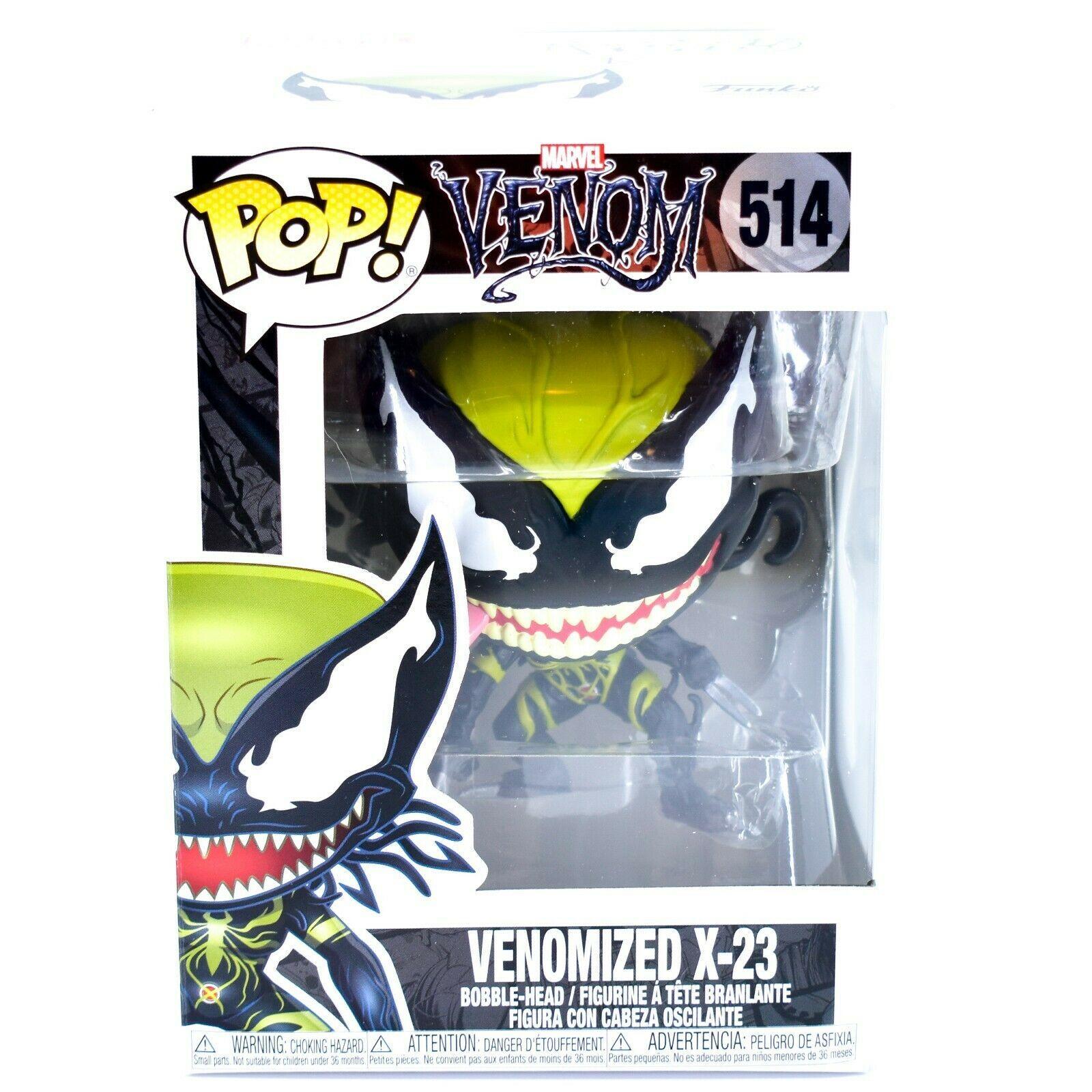 Funko Pop! Marvel Venom Venomized X-23 #514 Bobble-Head Vinyl Action Figure