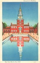 Pennsylvania Building, New York's World Fair 1939 unused Postcard  - $4.99