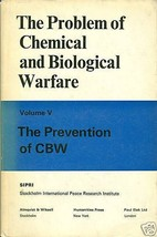The Problem of Chemical and Biological Warfare Volume 5 - $39.99