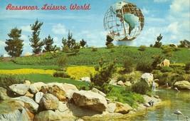 Rossmoor Leisure World, Laguna Hills, California unused Postcard  - $5.77