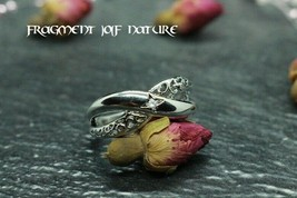 Male Guardian Spirit !!! Ring Charm Size 10 US 925 Silver - $39.75