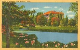 Scene in Fenway Park, Boston, Mass 1961 used Postcard  - $3.99