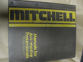 Mitchell Electrical Component Locator Manual Imported Cars and Trucks 19... - $12.99