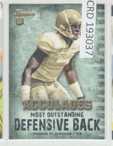 2012 Topps Bowman Morris Claiborne DB Accolades RC Rookie #BAC-MC 193037 - $1.86