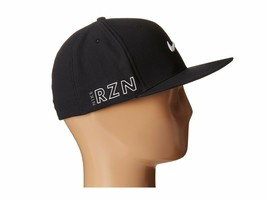 NEW! NIKE Mens Golf Tour Flex II VAPOR/RZN Fitted Hat-Black M/L - $49.38