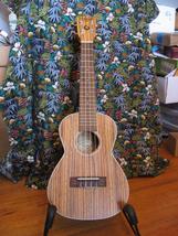 """Kahua Concert Size Ukulele/Zebra Wood/24""""/Gorgeous - $89.00"""