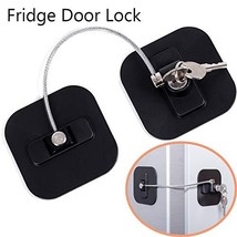 Refrigerator Lock, Fridge Lock with Keys, Freezer Lock and Child Safety ... - $14.53